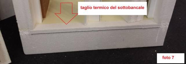 Il dentello porta intonacoinferiore stato studiato per ridurre al minimo le dispersioni nel - Ponte termico finestra ...